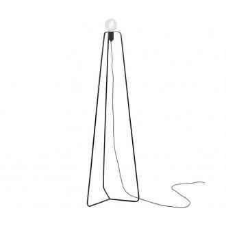 NOWODVORSKI 6974 | SimpleN Nowodvorski podna svjetiljka 140cm sa prekidačem na kablu 1x E27 crno