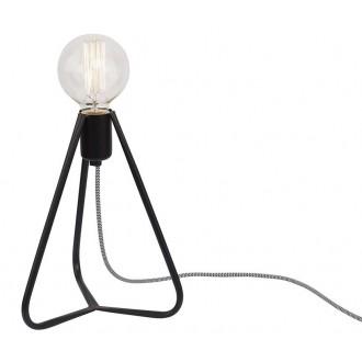 NOWODVORSKI 6975 | SimpleN Nowodvorski stolna svjetiljka 28cm sa prekidačem na kablu 1x E27 crno