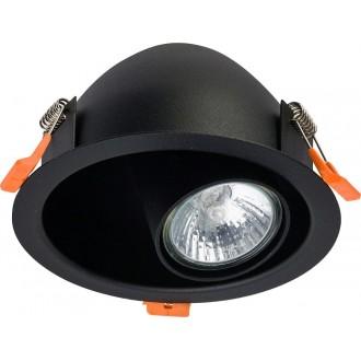 NOWODVORSKI 8826 | Dot Nowodvorski ugradbena svjetiljka izvori svjetlosti koji se mogu okretati 1x GU10 crno