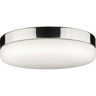 NOWODVORSKI 8827 | Kasai Nowodvorski stropne svjetiljke svjetiljka sa senzorom 2x E27 krom, opal