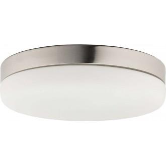 NOWODVORSKI 8828 | Kasai Nowodvorski stropne svjetiljke svjetiljka sa senzorom 2x E27 nikel, opal