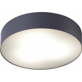 NOWODVORSKI 8833 | Arena Nowodvorski stropne svjetiljke svjetiljka sa senzorom 3x E14 IP44 grafit, bijelo