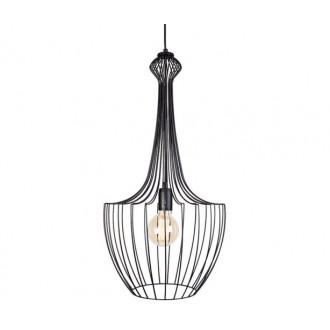 NOWODVORSKI 8851 | Luksor Nowodvorski visilice svjetiljka 1x E27 crno
