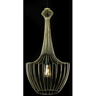 NOWODVORSKI 8853 | Luksor Nowodvorski visilice svjetiljka 1x E27 zlatno