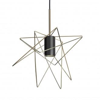 NOWODVORSKI 8854 | Gstar Nowodvorski visilice svjetiljka 1x GU10 crno, zlatno