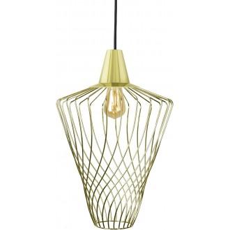 NOWODVORSKI 8857 | Wave-NW Nowodvorski visilice svjetiljka 1x E27 zlatno