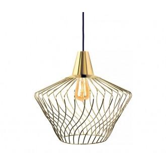 NOWODVORSKI 8861 | Wave-NW Nowodvorski visilice svjetiljka 1x E27 zlatno
