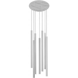 NOWODVORSKI 8918 | Laser Nowodvorski visilice svjetiljka 7x G9 bijelo