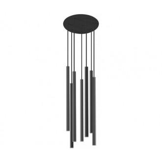 NOWODVORSKI 8920 | Laser Nowodvorski visilice svjetiljka 7x G9 crno