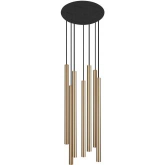 NOWODVORSKI 8921 | Laser Nowodvorski visilice svjetiljka 7x G9 crno, mesing