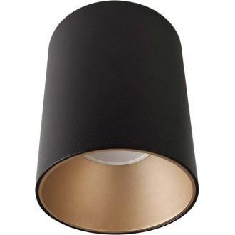 NOWODVORSKI 8931 | Eye-Tone Nowodvorski spot svjetiljka izvori svjetlosti koji se mogu okretati 1x GU10 crno, zlatno