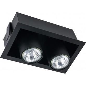 NOWODVORSKI 8940 | Eye-Mod Nowodvorski stropne svjetiljke svjetiljka 2x GU10 crno