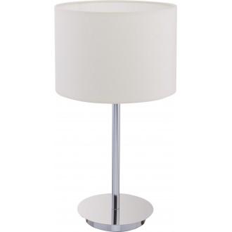 NOWODVORSKI 8982 | Hotel Nowodvorski stolna svjetiljka 43cm sa prekidačem na kablu 1x E27 ecru, krom