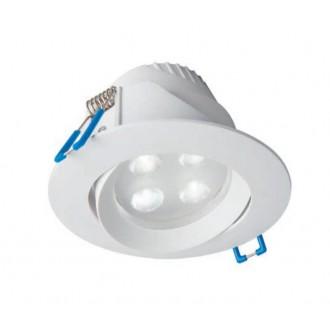 NOWODVORSKI 8990 | Eol Nowodvorski ugradbena svjetiljka pomjerljivo Ø102mm 1x LED 265lm 4000K IP44 bijelo