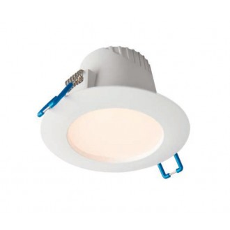 NOWODVORSKI 8991 | Helios-NW Nowodvorski ugradbena svjetiljka Ø102mm 1x LED 260lm 3000K IP44 bijelo