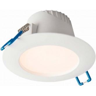 NOWODVORSKI 8992 | Helios-NW Nowodvorski ugradbena svjetiljka Ø102mm 1x LED 260lm 4000K IP44 bijelo