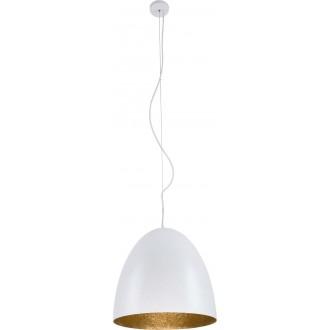 NOWODVORSKI 9021 | Egg Nowodvorski visilice svjetiljka 1x E27 bijelo, zlatno
