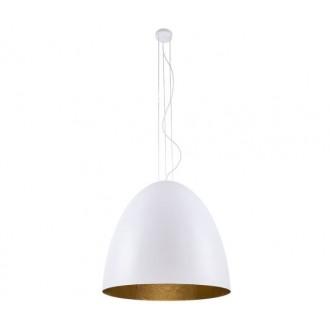NOWODVORSKI 9023 | Egg Nowodvorski visilice svjetiljka 5x E27 bijelo, zlatno