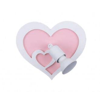 NOWODVORSKI 9062 | Heart-NW Nowodvorski zidna svjetiljka elementi koji se mogu okretati 1x GU10 bijelo, ružičasto