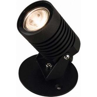 NOWODVORSKI 9101 | Spike-LED Nowodvorski podna svjetiljka 11,3cm elementi koji se mogu okretati 1x LED 115lm 3000K IP54 crno