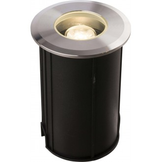 NOWODVORSKI 9105 | Picco-LED Nowodvorski ugradbena svjetiljka Ø60mm 1x LED 52lm 3000K IP67 srebrno