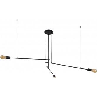 NOWODVORSKI 9128 | Pile Nowodvorski luster svjetiljka 3x E27 crno