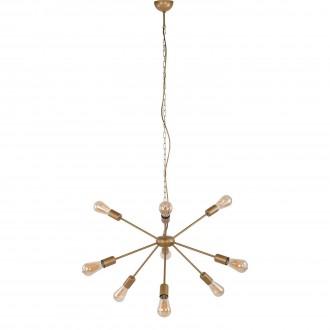NOWODVORSKI 9130 | Rod Nowodvorski luster svjetiljka 9x E27 zlatno