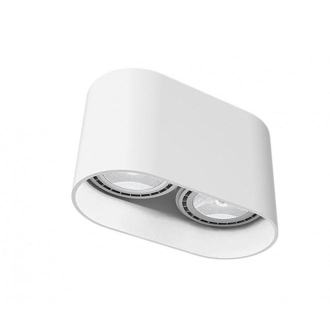 NOWODVORSKI 9241 | OvalN Nowodvorski stropne svjetiljke svjetiljka 2x GU10 / ES111 bijelo