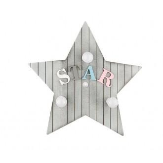 NOWODVORSKI 9293 | Toy-star Nowodvorski zidna, stropne svjetiljke svjetiljka 3x E14 sivo, u bojama
