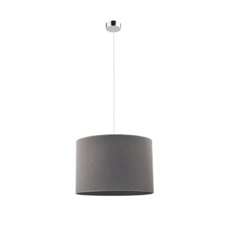 NOWODVORSKI 9298 | Hotel Nowodvorski visilice svjetiljka 1x E27 sivo
