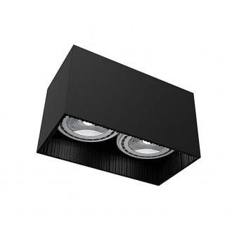 NOWODVORSKI 9316 | Groove Nowodvorski stropne svjetiljke svjetiljka 2x GU10 / ES111 crno
