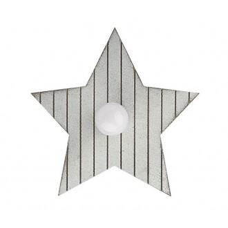 NOWODVORSKI 9376 | Toy-star Nowodvorski zidna, stropne svjetiljke svjetiljka 1x E14 sivo