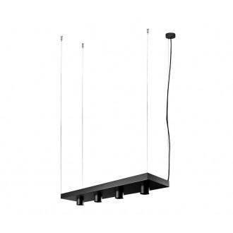 NOWODVORSKI 9381 | Plant Nowodvorski visilice svjetiljka 4x GU10 crno