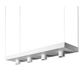 NOWODVORSKI 9382 | Plant Nowodvorski visilice svjetiljka 4x GU10 bijelo