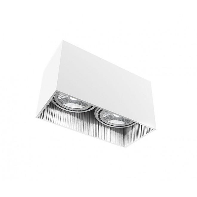 NOWODVORSKI 9383 | Groove Nowodvorski stropne svjetiljke svjetiljka 2x GU10 / ES111 bijelo