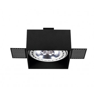 NOWODVORSKI 9404 | Mod-Plus Nowodvorski ugradbene svjetiljke - snažnozračne svjetiljke svjetiljka 116x116mm 1x GU10 / ES111 crno
