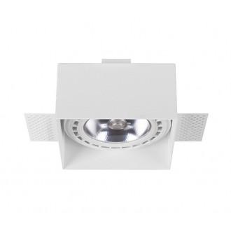 NOWODVORSKI 9408 | Mod-Plus Nowodvorski ugradbene svjetiljke - snažnozračne svjetiljke svjetiljka 116x116mm 2x GU10 / ES111 bijelo