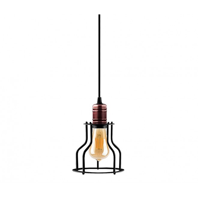 NOWODVORSKI 9427 | Profile Nowodvorski element sustava svjetiljka 1x E27 crno, crveni bakar