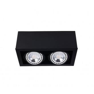 NOWODVORSKI 9470 | BoxN Nowodvorski stropne svjetiljke svjetiljka izvori svjetlosti koji se mogu okretati 2x GU10 / ES111 crno