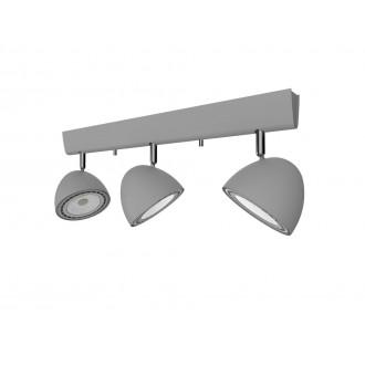 NOWODVORSKI 9487 | Vespa Nowodvorski zidna, stropne svjetiljke svjetiljka elementi koji se mogu okretati 3x GU10 / ES111 srebrno
