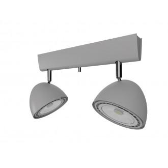 NOWODVORSKI 9488 | Vespa Nowodvorski zidna, stropne svjetiljke svjetiljka elementi koji se mogu okretati 2x GU10 / ES111 srebrno