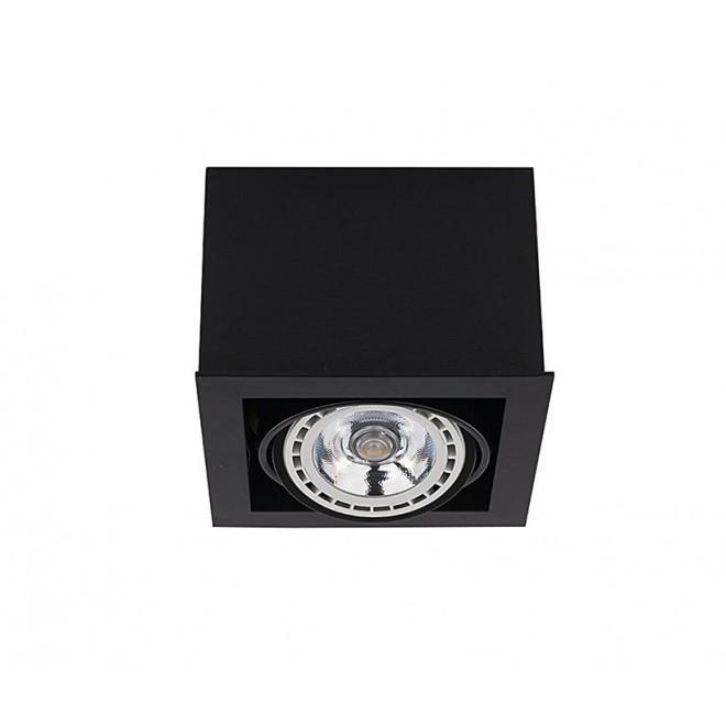 NOWODVORSKI 9495 | BoxN Nowodvorski stropne svjetiljke svjetiljka izvori svjetlosti koji se mogu okretati 1x GU10 / ES111 crno