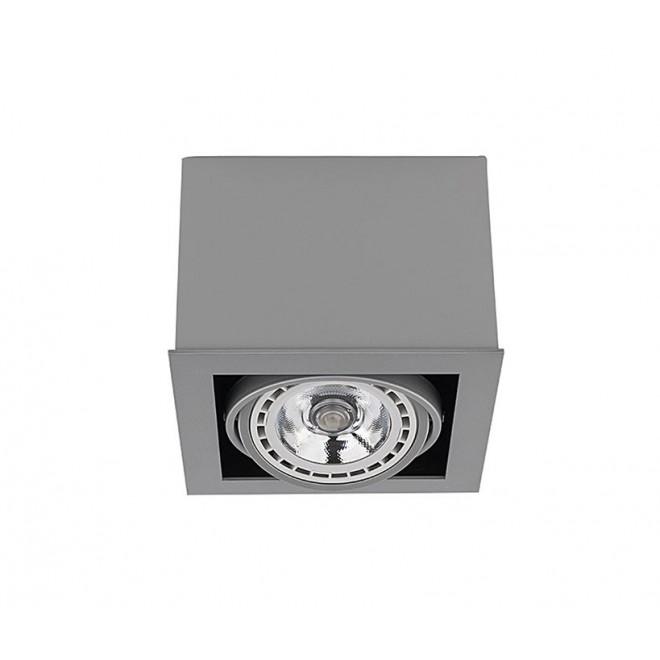 NOWODVORSKI 9496   BoxN Nowodvorski stropne svjetiljke svjetiljka izvori svjetlosti koji se mogu okretati 1x GU10 / ES111 sivo