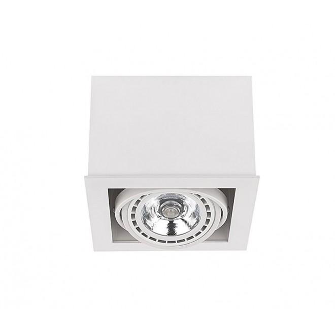 NOWODVORSKI 9497 | BoxN Nowodvorski stropne svjetiljke svjetiljka izvori svjetlosti koji se mogu okretati 1x GU10 / ES111 bijelo