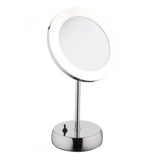 NOWODVORSKI 9504 | Makeup Nowodvorski stolna svjetiljka 36cm s prekidačem elementi koji se mogu okretati 1x LED 43lm 4000K IP44 krom