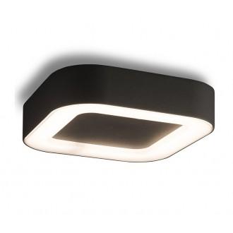 NOWODVORSKI 9513 | Puebla Nowodvorski stropne svjetiljke svjetiljka 1x LED 538lm 3000K IP54 grafit, bijelo