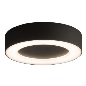 NOWODVORSKI 9514 | Merida Nowodvorski stropne svjetiljke svjetiljka 1x LED 538lm 3000K IP54 grafit, bijelo