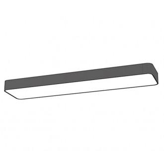 NOWODVORSKI 9532 | SoftN Nowodvorski stropne svjetiljke svjetiljka 2x G13 / T8 950lm 3000K grafit