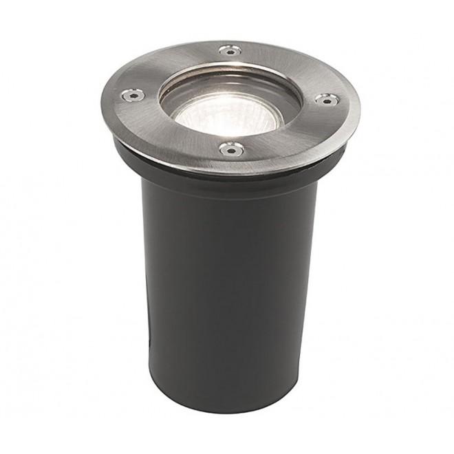 NOWODVORSKI 9554 | Paoli Nowodvorski ugradbena svjetiljka Ø108mm 1x GU10 IP67 krom