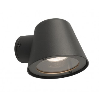 NOWODVORSKI 9555 | Soul Nowodvorski zidna svjetiljka 1x GU10 IP44 grafit
